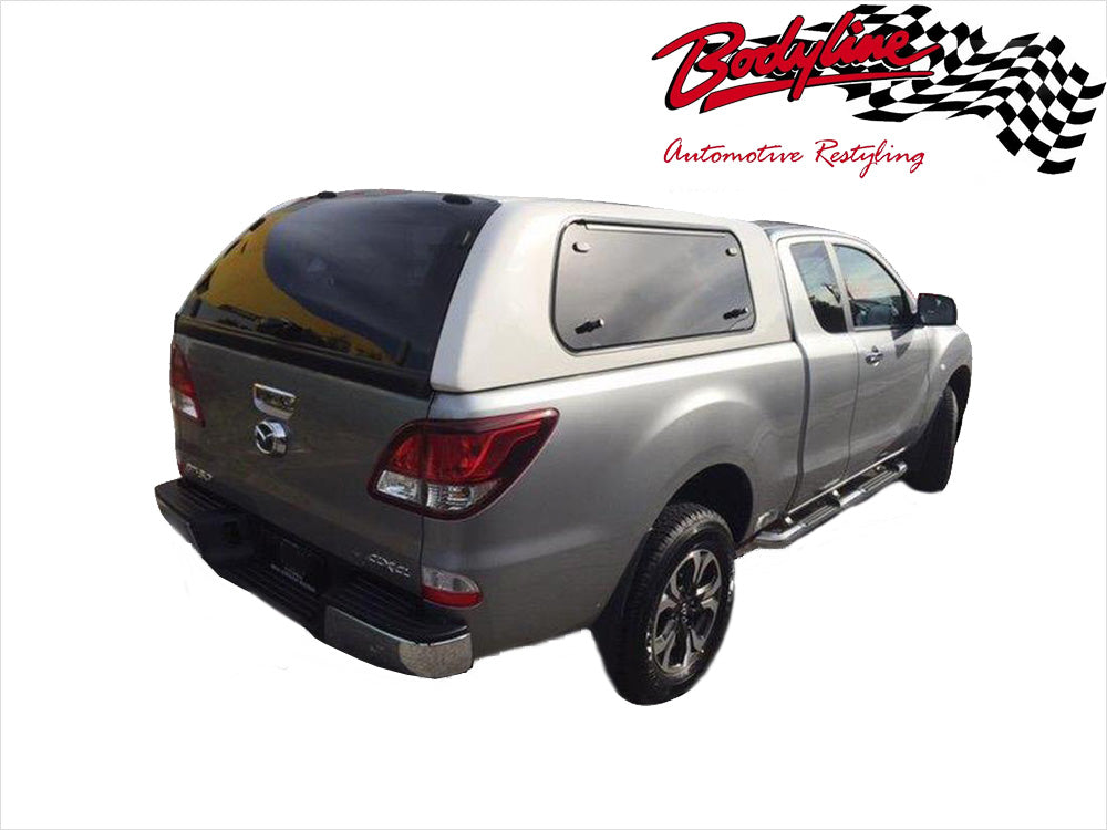 MAZDA BT-50 EXTRA CAB CANOPY 2012on - LIFT UP WINDOWS