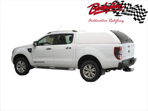 FORD RANGER PX PX2 DUAL CAB CANOPY 2012on - FLEET NO SIDE WINDOWS