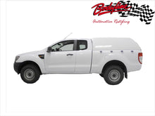 FORD RANGER PX PX2 EXTRA CAB CANOPY 2012on - FLEET NO SIDE WINDOWS