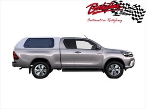 TOYOTA HILUX REVO EXTRA CAB CANOPY 2015on - LIFT UP WINDOWS - FITS A Deck