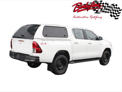 TOYOTA HILUX REVO DUAL CAB CANOPY 2015on - LIFT UP WINDOWS - FITS J Deck