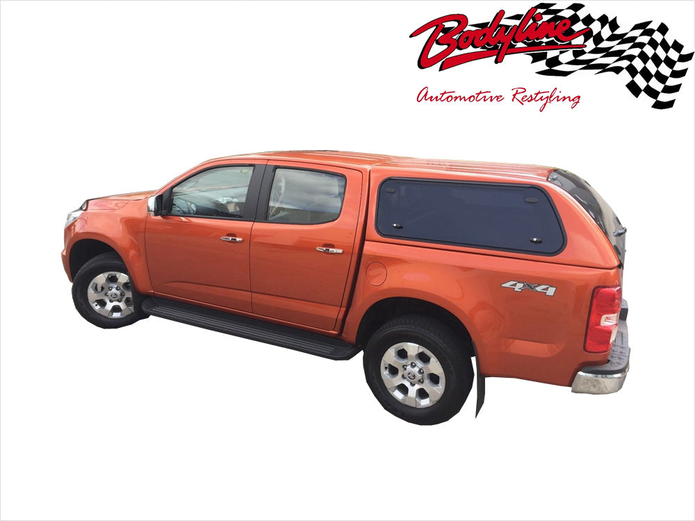 sc 1 st  Bodyline Automotive Restyling & HOLDEN COLORADO RG DUAL CAB CANOPY 2012on - LIFT UP WINDOWS ...