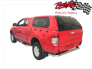 HOLDEN COLORADO RG EXTRA CAB CANOPY 2012on - LIFT UP WINDOWS
