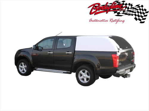 HOLDEN COLORADO RG DUAL CAB CANOPY 2012on - FLEET NO SIDE WINDOWS