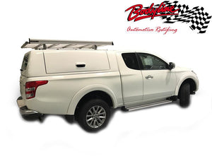 MITSUBISHI TRITON L200 EXTRA CAB CANOPY 2015on - LIFT UP SIDE PANELS