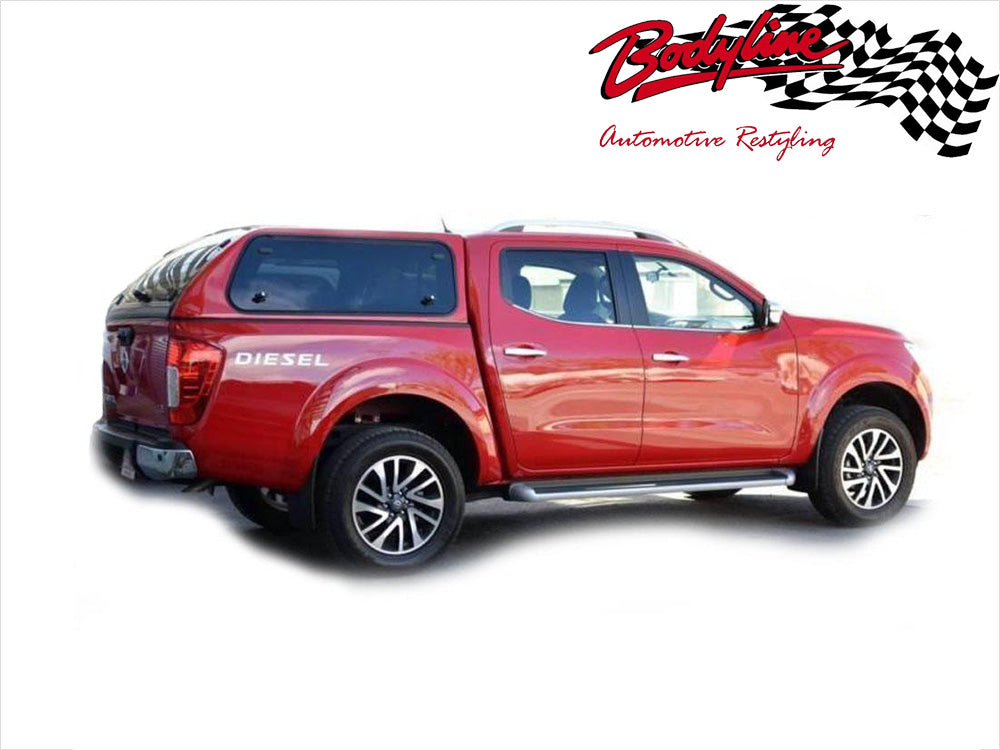sc 1 st  Bodyline Automotive Restyling & NISSAN NAVARA NP300 DUAL CAB CANOPY 2015on - LIFT UP WINDOWS ...