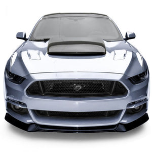 Ford Mustang 2015-2017 AIR DESIGN Front Bumper Replacement - Satin Black