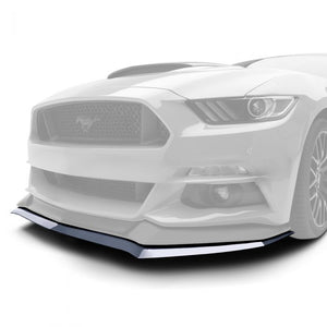 Ford Mustang 2015-2017 AIR DESIGN Splitter for Air Design Front Bumper - Satin Black