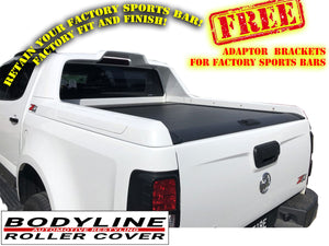 HOLDEN COLORADO Z71 2012on ROLLER SHUTTER COVER Tonneau suits Factory Sports Bar Secure