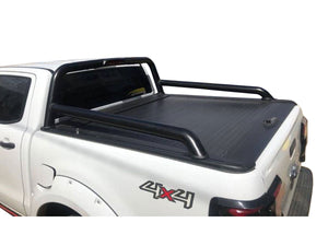 FORD RANGER FX4 DUAL CAB 2012on ROLLER SHUTTER COVER Tonneau suits Factory Sports Bar Secure