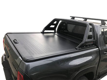 TOYOTA HILUX RUGGED X DUAL CAB 2015on ROLLER SHUTTER COVER Tonneau suits Factory Sports Bar Secure