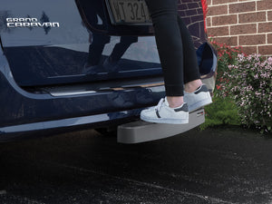 WeatherTech BumpStepXL Towbar Hitch Mounted Step and Bumper Protection