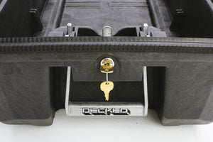 DECKED Drawer lock set with matching keys