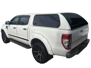 Painted FORD RANGER CANOPY for DUAL CAB 2012+ KARUNA with Lift Up Side Windows