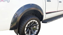 FORD RANGER PX1 2012-2015 FENDER FLARES WHEEL ARCH PAINTED MATTE BLACK