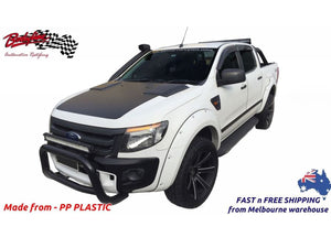 FORD RANGER PX1 2012-2015 FENDER FLARES WHEEL ARCH PAINTED TO ANY COLOUR