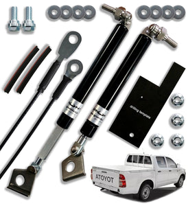 Toyota Hilux 2005-2015 (Twin Handle) tailgate strut assist system
