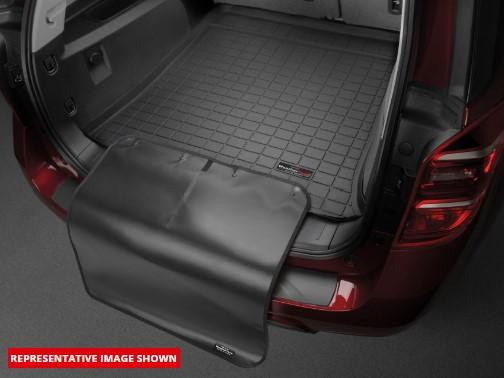 Maserati Quattroporte 2013-2013 WeatherTech 3D Boot Liner Mat Carpet Protection CargoLiner w/bumper protector