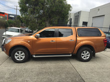 NISSAN NAVARA NP300 DUAL CAB CANOPY 2015on - LIFT UP WINDOWS