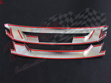 ISUZU D MAX 2013on FRONT GRILLE COVER - CHROME finish
