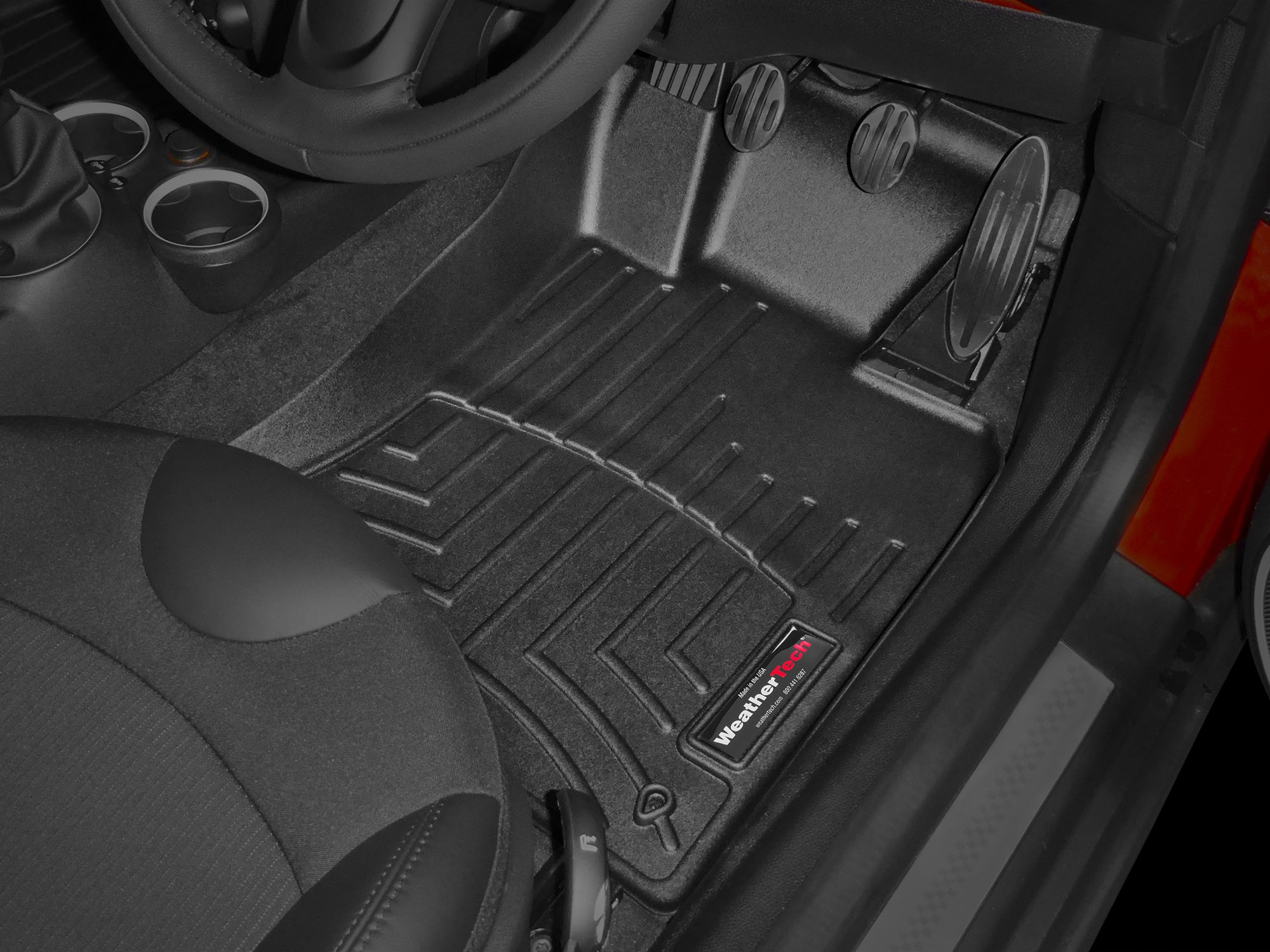 Mini Convertible 2012 2014 Weathertech 3d Floor Mats Floorliner