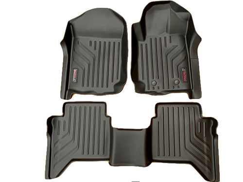 Toyota FORTUNER 2015+ MaxPro 3D LASER CAR MATS FLOORLINERS - ALL WEATHER