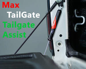 Isuzu D-MAX 2015-2019 MaxTailGate Slow Down & Easy Lift Up Tailgate ASSIST STRUT KIT