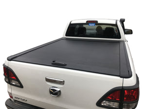 MAZDA BT-50 DC (UP, UR) 2012-2020 ROLLER SHUTTER COVER Tonneau suits Factory Sports Bar Secure