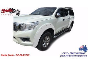 NISSAN NAVARA NP300 ST ST-X N-TEC SL 2015on FENDER FLARES WHEEL ARCH PAINTED TO ANY COLOUR