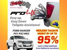 FORD RANGER 2012on ProLift Slow Down & Easy Lift Up Tailgate ASSIST STRUT KIT GATE