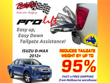 ISUZU D-MAX 2012on ProLift Slow Down & Easy Lift Up Tailgate ASSIST STRUT KIT GATE