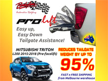 MITSUBISHI TRITON L200 2015-2018 ProLift Slow Down & Easy Lift Up Tailgate ASSIST STRUT KIT GATE