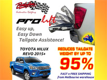 TOYOTA HILUX REVO 2015on ProLift Slow Down & Easy Lift Up Tailgate ASSIST STRUT KIT GATE