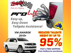 VW AMAROK 2017on ProLift Slow Down & Easy Lift Up Tailgate ASSIST STRUT KIT GATE
