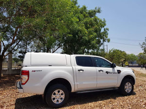 Painted FORD RANGER CANOPY for DUAL CAB 2012+ FORCE PRO with Lift Up Side Panels