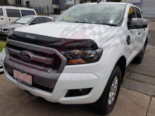 FORD RANGER PX2 2015on BONNET PROTECTOR - GLOSS BLACK (SEE NOTE ABOUT CONDITION)