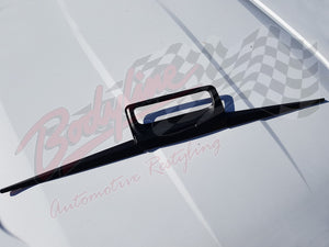 FORD RANGER PX PX2 2012on REAR TAILGATE HANDLE LINE COVER TRIM MATT BLACK