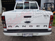 FORD RANGER PX PX2 2012on TAIL LIGHT TRIM COVER FRAMES BLACK MATT Protector