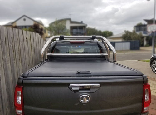 Great Wall STEED 2016+ ROLLER SHUTTER COVER Tonneau Secure Black