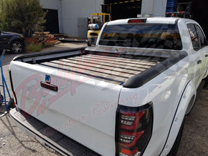 ISUZU D-MAX 2012on ROLLER SHUTTER COVER Tonneau suits Factory Sports Bar Secure