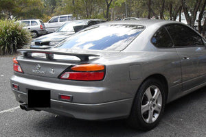 NISSAN 200SX S15 (SILVIA) SPORTS BOOT SPOILER with LED LIGHT 2000-2003
