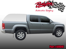 VW AMAROK DUAL CAB CANOPY 2010on - FLEET NO SIDE WINDOWS