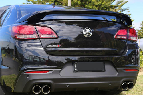 GENUINE VF COMMODORE HIGH WING SPOILER (taken of brand new car) PAINTED COLOUR