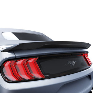 Ford Mustang 2015+ AIR DESIGN Convertible High Profile Rear Deck Spoiler - Satin Black