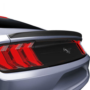 Ford Mustang 2015+ AIR DESIGN Coupe Low Profile Rear Deck Spoiler - Satin Black