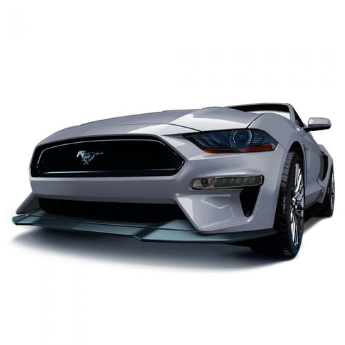 Ford Mustang 2018+ AIR DESIGN Front Bumper Replacement - Satin Black