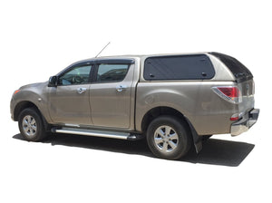 Painted MAZDA BT-50 CANOPY for DUAL CAB 2012+ KARUNA with Lift Up Side Windows
