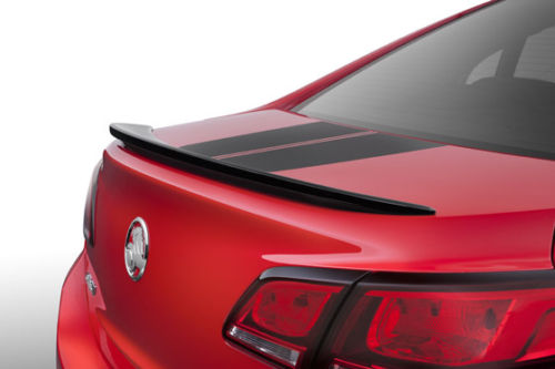 GENUINE VF COMMODORE LIP SPOILER (taken of brand new car) PHANTOM BLACK