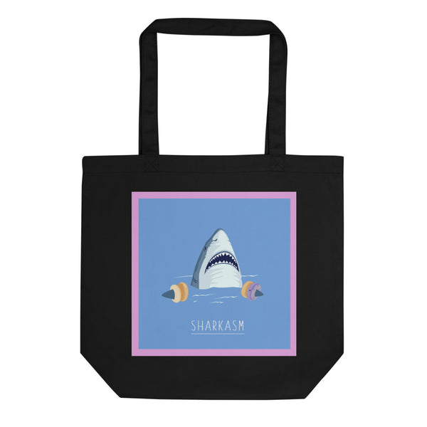 Sharkasm Tote Bag