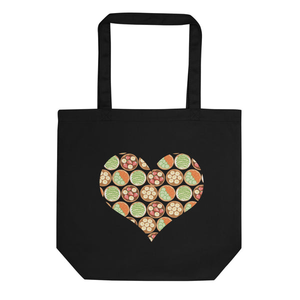 Bagel Heart Tote Bag
